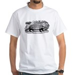 Drawing of a Badger White T-Shirt