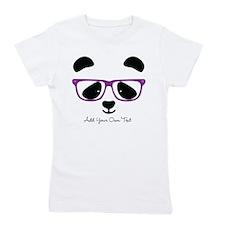 Cute Panda Purple Girl's Tee