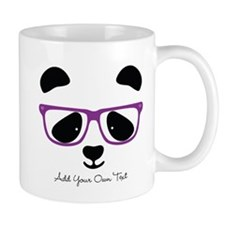 Cute Panda Purple Mug