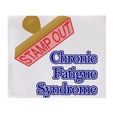Chronic Fatigue Syndrome Throw Blanket