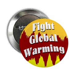 10 pack Fight Global Warming Buttons