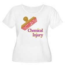 Chemical Injury Plus Size T-Shirt