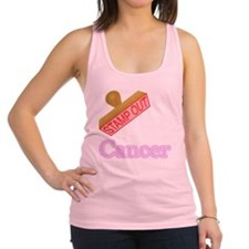 Cancer Racerback Tank Top