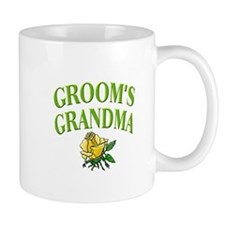 Groom's Grandma (rose) Mug