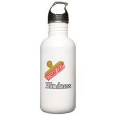 Blindness.png Water Bottle
