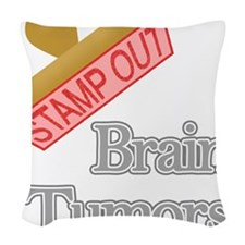 Brain Tumors Woven Throw Pillow