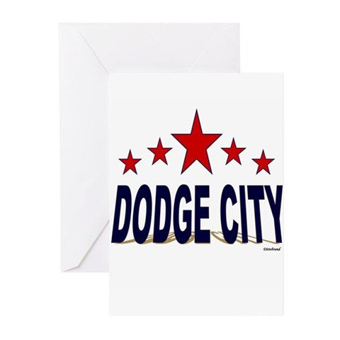 Dodge City Greeting Cards (Pk of 10)