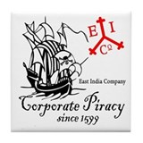 EIC Corporate Piracy Tile Coaster