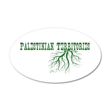 Palestinian Roots 20x12 Oval Wall Decal