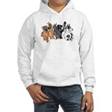 6 Great Dane Girls Hoodie
