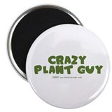 "Crazy Plant Guy 2.25"" Magnet (10 pack)"