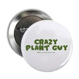 "Crazy Plant Guy 2.25"" Button (10 pack)"