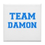 TEAM DAMON Tile Coaster