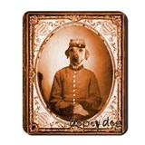 Yellow Lab BEAUREGARD Mousepad