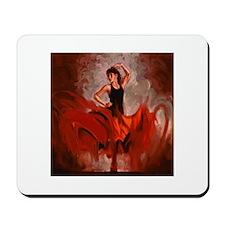 spanish flamenco dancer Mousepad