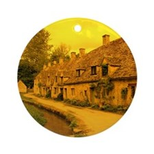 Arlington Row - Bibury Ornament (Round)
