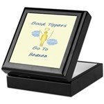 Good Tipper Angel Keepsake Box