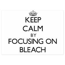Keep Calm by focusing on Bleach Invitations
