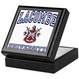 LACOMBE University Keepsake Box
