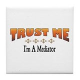 Trust Mediator Tile Coaster