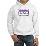 Philosopher for Hire (Purple) Hoodie