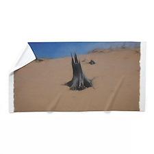 Lonesome Stump Beach Towel