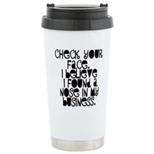 Nosy People Gossip Humo Travel Mug