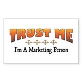 Trust Marketing Person Rectangle Decal