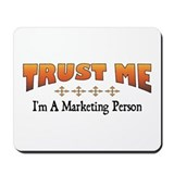 Trust Marketing Person Mousepad