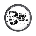 Ed Wood Savior Wall Clock
