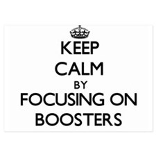 Keep Calm by focusing on Boosters Invitations