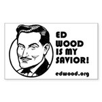 Ed Wood is my Savior Sticker