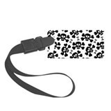 Hippo luggage tag Small