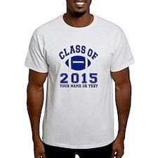 Class Of 2015 Football T-Shirt