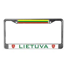 Lietuva License Plate Frame
