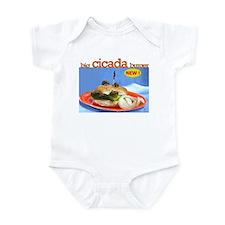 Cucada burger Infant Bodysuit