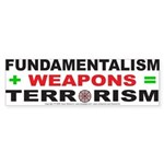 Fundamental Terror Bumper Sticker