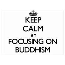 Keep Calm by focusing on Buddhism Invitations