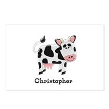 Cow Just Add Name Postcards (Package of 8)