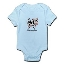 Cow Just Add Name Body Suit