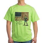 Press 1 for English? Green T-Shirt