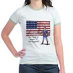 Press 1 for English? Jr. Ringer T-Shirt