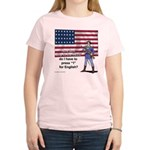 Press 1 for English? Women's Light T-Shirt