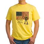 Press 1 for English? Yellow T-Shirt