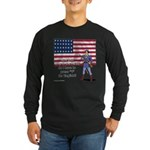 Press 1 for English? Long Sleeve Dark T-Shirt