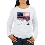 Press 1 for English? Women's Long Sleeve T-Shirt