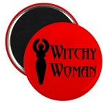 Witchy Woman Magnet