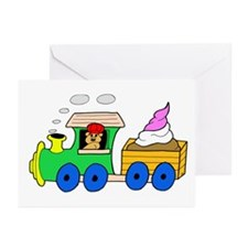 Ice Cream Train Greeting Cards (Pk of 10)