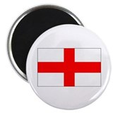 English Flag Magnet