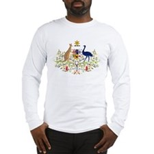 Australia Coat of Arms Long Sleeve T-Shirt